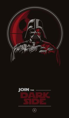 Join the Dark Side /by Valeria Rossi #StarWars #art