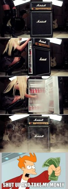 We need this for the recording studio!
