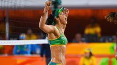 Rio 2016 beach volleyball semi-finals: Brazil men and women go for gold