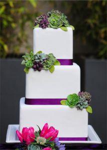 Le wedding cake per il 2013: nove idee trendy dai matrimoni del Regno Unito!