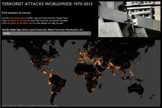 Terrorist attacks worldwide 1970-2012