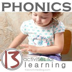 This is a great resource for teaching phonics. It gives you lists of activities to use when teaching phonics, which in my opinion is a hard subject to teach in a fun, motivating way. -Jordan Toburen