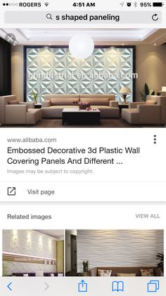 nice feature wall (top photo)