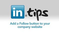 Add a Follow button to your company website