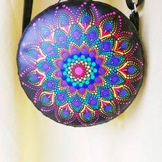 #handmadepurse #miniboutique #dot #pointilism Mini Boutique, Wallet Shop, Handmade Leather Wallet, Handmade Purses, Made Goods, Card Wallet, Hand Stitching, Saddle Bags, Artisan