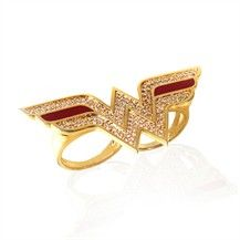 wonder woman ring, awesome! much more age appropriate than underoos!