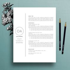 Vorlage der beruflichen Lebenslauf / CV von TheCreativeResume