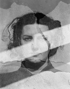 Eleanor, multiple-exposure, 1942  Harry Callahan