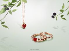 Van Cleef & Arpels wishes you a happy Valentine's Day!  Love and Luck are united in the Alhambra™ and Perlée collections™, an ode to gentleness and grace.