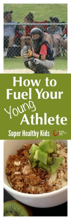 nutrition healthy food weight loss fitness tips How to Fuel Your Young Athlete. Make sure your little athletes are getting the nutrition they need! Athlete Nutrition, Sport Nutrition, Nutrition Guide, Nutrition Plans, Kids Nutrition, Health And Nutrition, Nutrition Activities, Physical Activities, Super Healthy Kids