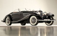 1936 Mercedes-Benz 540 K Special Roadster - at 11,7 million dollars the most expensive Mercedes Benz and pre-Second World War car ever sold at public auction.