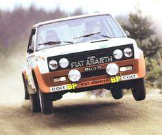 T. Mäkinen - Fiat 131 Abarth (1000 Lakes 77)