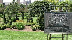 Seurat inspired Topiary Garden, Columbus, Ohio