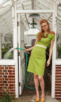 I'd love to make a dress like this!