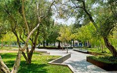 Gardens of the Hospital in Valencia « Landscape Architecture Platform Landscape Plans, Urban Landscape, Landscape Design, Garden Design, Traditional Landscape, Contemporary Landscape, Architecture Details, Landscape Architecture, Gardens