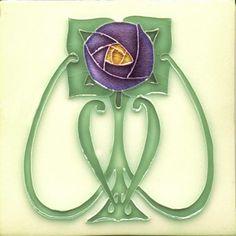 Margaret, Moulded Tile, Charles Rupert Designs