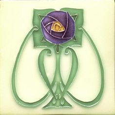 Margaret, Moulded Tile, Charles Rupert Designs