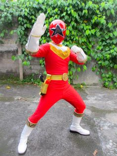 Zeo Red Ranger - Power Rangers Zeo cosplay