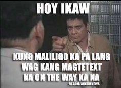 Daming ganyan - TristanCafe Memes Pinoy, Memes Tagalog, Pinoy Quotes, Tagalog Love Quotes, Bisaya Quotes, Tagalog Quotes Hugot Funny, Hugot Quotes, Filipino Quotes, Filipino Funny