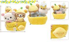 Limited edition #Rilakkuma lemon bee gang (=´∀`)人(´∀`=) リラックマスペシャルレモンぬいぐるみ