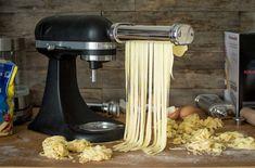Machine A Pate Fraiche, Kitchen Aid Mixer, Kitchen Appliances, Menu, Pasta, Cooking, Camping Kitchen, Outdoor Camping, Robots