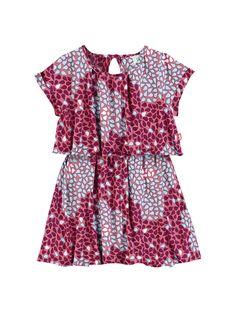 Vestido Infantil Com Blusa Sobreposta | Vestidos | Feminino | PUC