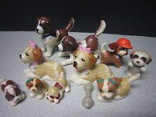 """KENNER VTG """"Littlest Pet Shop"""" BEETHOVEN LOT-1992-94 Dogs & Puppies!"""