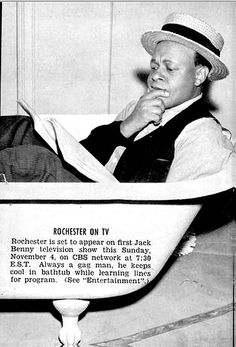 "Eddie Anderson ""Rochester"" of the Jack Benny Show - Jet Magazine, November 8, 1951 by vieilles_annonces, via Flickr"