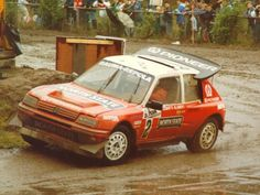 Rally Raid, Peugeot 205, Cars And Motorcycles, Race Cars, Nissan, Super Cars, Porsche, Racing, Retro