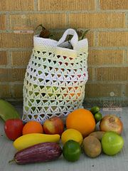 Ravelry: Triangle Stitch Market Bag pattern by Creative Threads by Leah