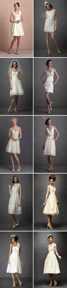 Ideas for dress short wedding bridal musings Dresses For Teens, Trendy Dresses, Modest Dresses, Elegant Dresses, Short Dresses, White Wedding Gowns, Wedding Party Dresses, Hair Wedding, Sequin Bridesmaid