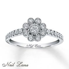 I absolutely LOVE this Michael.    Neil Lane Designs Ring 1/3 ct tw Diamonds 14K White Gold