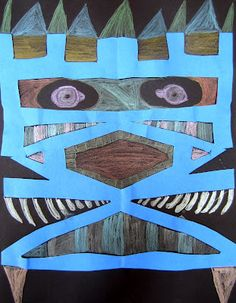 Name Monsters: symmetry, block letters, scissor skills- can even include rulers/measuring to find the center to begin