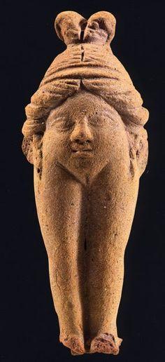 BAUBO, Greek goddess of naughtiness, terracotta