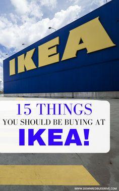 IKEA | IKEA Hacks | What to buy at IKEA | Guide to IKEA | IKEA Favorites | DIY IKEA | Save at IKEA | Cheap IKEA via @DownRedbudDrive