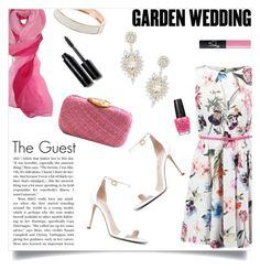 """Garden Wedding - The Guest"" by simona-risi ❤ liked on Polyvore featuring Estivo, ALDO, Kayu, Miss Selfridge, NARS Cosmetics, OPI, Bobbi Brown Cosmetics and gardenwedding"