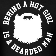 Bearded Man Men's T-Shirt – black - Christmas Deesserts Bearded Man Quotes, Beard Quotes, Bearded Men, Sex Quotes, Funny Quotes, Beard Game, Beard Lover, Awesome Beards, Badass Quotes