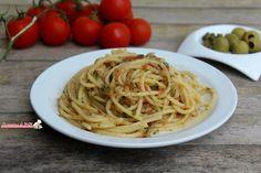 Spaghetti alla pantesca ricetta primo piatto tipico dell'isola di Pantelleria, saporita semplice e veloce da preparare. Blog giallo zafferano.