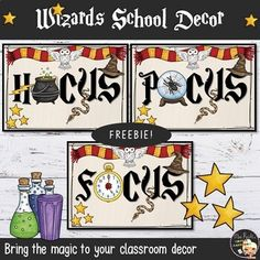 Wizards Classroom Posters by Mrs Recht's Virtual Classroom Classroom Posters, Classroom Decor, English Day, School Decorations, Beige Background, Wizards, Fun Ideas, Teacher Pay Teachers, Blog