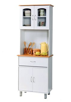 Hodedah Import Kitchen Cabinet White * Check this awesome product by going to the link at the image. We are a participant in the Amazon Services LLC Associates Program, an affiliate advertising program designed to provide a means for us to earn fees by linking to Amazon.com and affiliated sites.