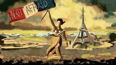 Paris 13N. El terror hecho ilustración (Yosfot blog)