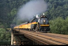 RailPictures.Net Photo: 2101 Reading Company Steam 4-8-4 at Magnolia, West Virginia by Extra 127 South