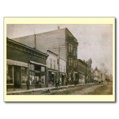 Main St., Dodgeville, Wisconsin Vintage