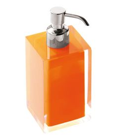 Take a look at this Orange Rainbow Soap Dispenser by Nameeks on #zulily today!