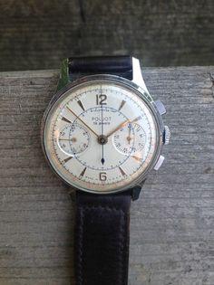 """""""La Belle Du Jour"""" est une """"#Poljot"""" ( Poljot watches pour les amateurs qui sont de plus en plus nombreux). Petite anecdote """"La Poljot"""" est la montre du premier astronaute russe à avoir séjourner dans l'espace Youri Gagarine!   À partir de 1959, la firme fut autorisée à exporter, notamment au Royaume-Uni sous la marque #SEKONDA  #MontreMoi #Poljot #Watch #Vintage #VintageWatchOrNothing #SwissInspiration #Venus #Caliber #Russia #RussianWatchs #Military #Sekonda #Sturmanskie #Vimpel #Strela…"""