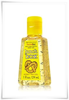 Bath and Body Works PocketBac Lunch Box Anti-Bacterial Hand Gels