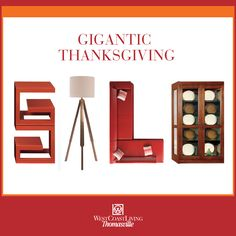 Save 30 50% Off* On The Best Furniture Brands At Our Annual Thanksgiving  Sale U0026 Clearance! Our Lowest Prices Of The Year On Major Brands Like  Thomasville ...