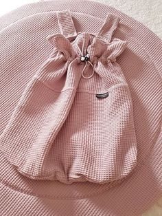 Boxzak Wafel Old Baby Pink - oudroze - donker poeder roze