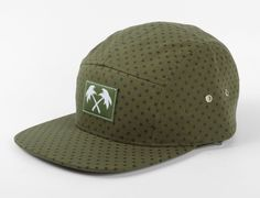 Polka 5 Panel Hat By TRAINERSPOTTER x STARTER