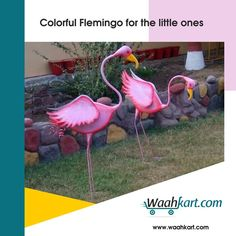 Kids love #Flemingo. The happiness they get while playing in a seesaw is incomparable. Choose one from www.waahkart.com to gift your little to your little one.  #WaahKart #OnlineShoppinginIndia